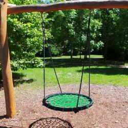 Kruhová hojdačka XXL 120 cm - zelená