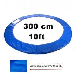 Kryt pružín na trampolínu 300 cm - modrý