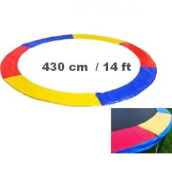 Ochranný kryt na trampolínu 430 cm - color