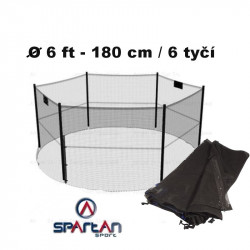 Ochranná sieť k trampolíne  180 cm