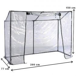 Záhradný fóliovník PVC 200x150x77 cm