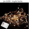 LED - svetelný drôt 50 led