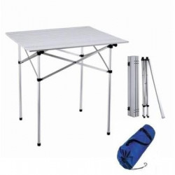 Kempingový stôl 70x70 cm