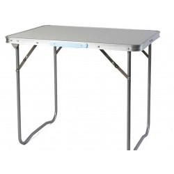 Kempingový stôl ALU 80x60 cm