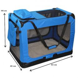 Prepravný box na zvieratá - Modrý