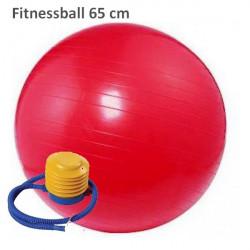 Fit lopta Gymball 65 cm červená