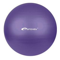 Spokey Fitball 65 cm fialová