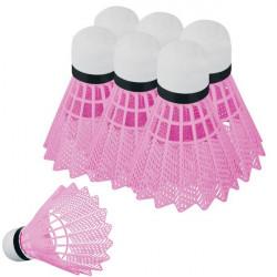 Badminton košík Spokey Flame ružový