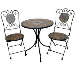 Záhradný set Mosaik - grau