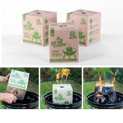 GrillCube - uhlie na grilovanie