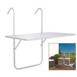 Balkonový stolík 60x40 cm - skladací