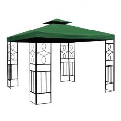Záhradný altánok Laura 3x3 m - zelený