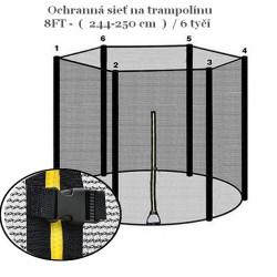 Ochranná sieť k trampolíne 250 cm
