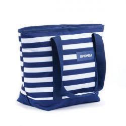 Plážová taška Spokey Acapulco - modrá
