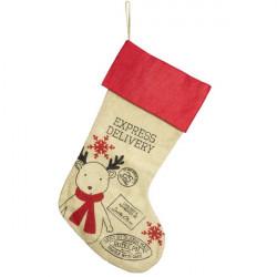 Vianočná Ponožka Delivery Express 54 cm
