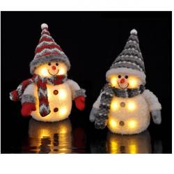 LED snehuliak 20 cm