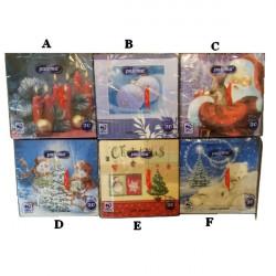 Vianočné servítky 20 ks