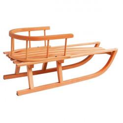 Sánky drevené s opierkou GORAL