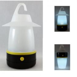 Kempingová lampa 6-LED