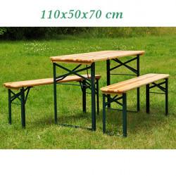 Záhradný pivný set - malý 110x50x70 cm