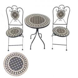Záhradný set Bistro Keramik - Rund