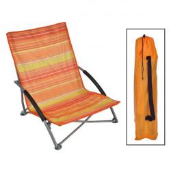 Plážová stolička - skladacia
