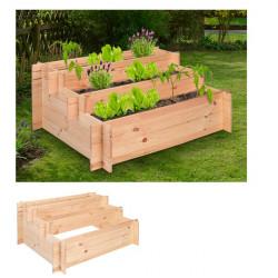 Záhradný drevenný záhon - 100 x 75 x 40