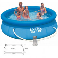 Bazén EASY Pool set  305x0,76 cm+ filtrácia