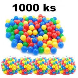 Plastové loptičky do bazéna  1000 ks