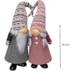 Vianočný škriatok Gnome 43 cm