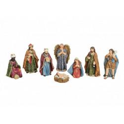 Vianočný Betlehem 8 diel. 3-11  cm