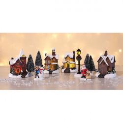 Vianočné Mestečko s LED osvetlením