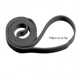 Odporová guma Spokey Power sivá