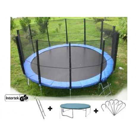trampol na xxl 500 cm 16 ft. Black Bedroom Furniture Sets. Home Design Ideas