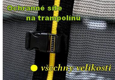 Ochranné sítě na trampolínu