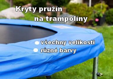 Ochranné kryty pružín na trampolínu